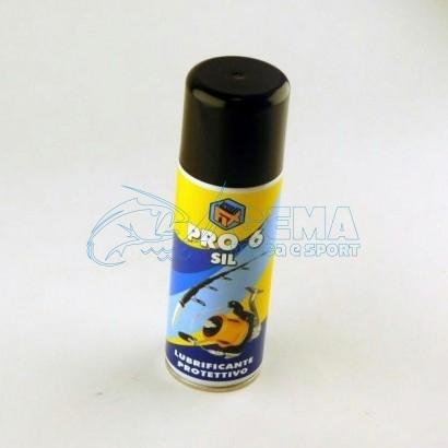 spray protettivo canna da pesca e mulinello