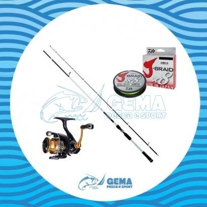 Kit Pesca Eging Daiwa Colmic Canna E Mulinello