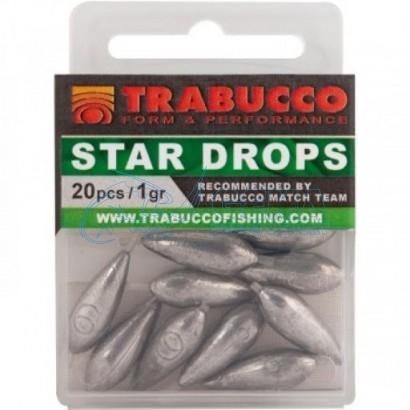 Piombo per pesca Trabucco Torpille Star Drops Inline