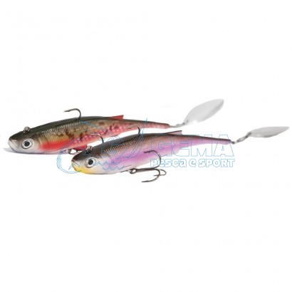 Artificiale Softbait Rapture Mad Spintail Shad