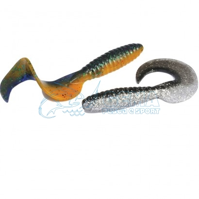 Artificiale Softbait Rapture Fun Tail Grub 65