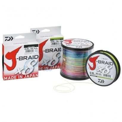 Trecciato Daiwa J Braid X8 Multicolor