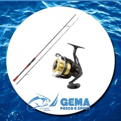 Kit Pesca Spinning Canna e Mulinello