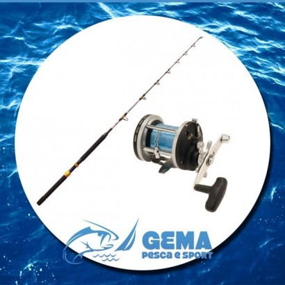 Kit Pesca Traina Canna e Mulinello