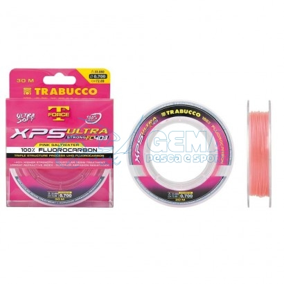 Fluorocarbon Rosa Trabucco Ultra Strong Fc 403 Pink Saltwater