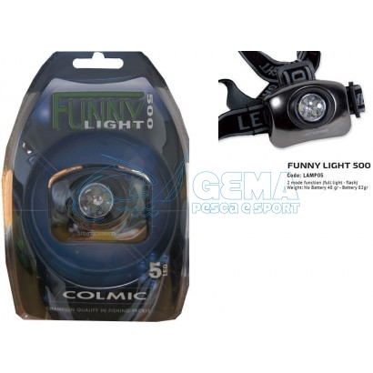 COLMIC-LAMPADA-FRONTALE-FUNNY-LIGHT-500