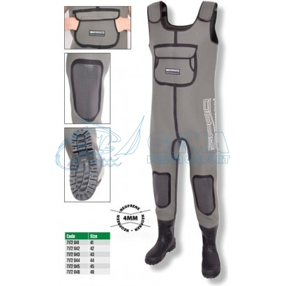 SPRO-WADERS-IN-NEPPRENE-4MM
